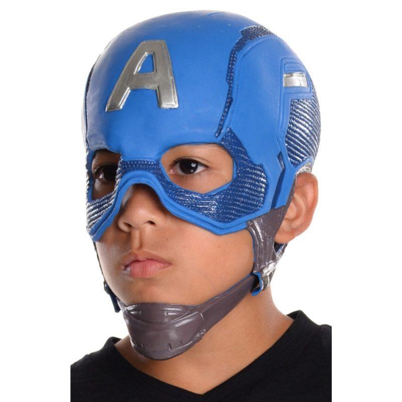 mascara-capitão-america-luxo-infantil