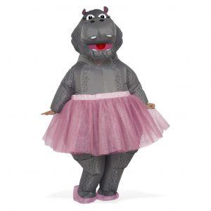 fantasia-inflável-hipopótamo-bailarina