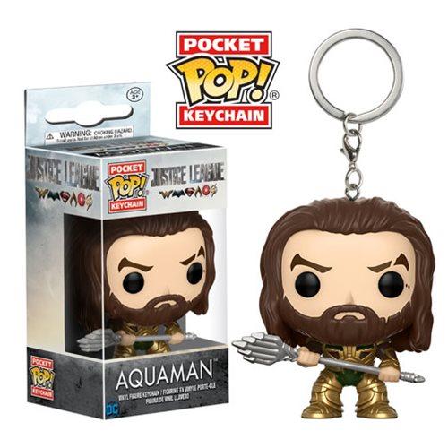 Filme Liga da Justiça Aquaman Pocket Pop Chaveiro FU13792lg