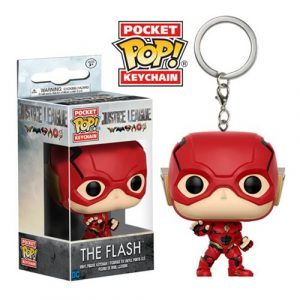 Filme Liga da Justiça The Flash Pocket Pop Chaveiro FU13791lg