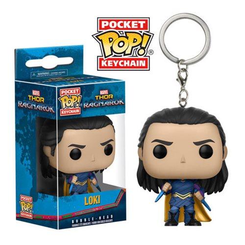 Thor Ragnarok Loki Pocket Pop! Chaveiro FU13784lg