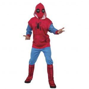 fantasia-masculina-adulta-cosplay-fantasia-homem-aranha-homemade