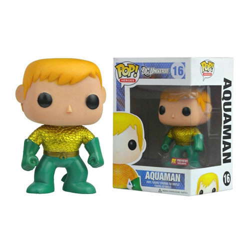 Aquaman New 52 Previews Exclusive Pop! Vinyl Figure FU132126lg