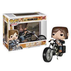 The Walking Dead Daryl Dixon with Chopper Pop! Vinyl Vehicle FU4713lg