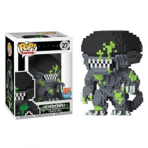 Alien Xenomorph Blood Splattered 8-Bit Pop! Vinyl Figure - Previews Exclusive #27
