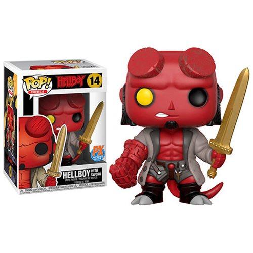 Hellboy with Excalibur Pop! Vinyl Figure