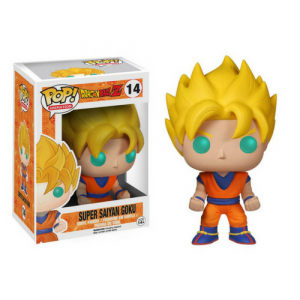 Dragon Ball Z Glow-in-the-Dark Super Saiyan Goku Pop #14