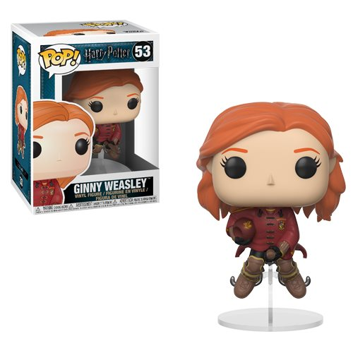 Harry Potter Ginny Weasley on Broom Pop! Vinyl Figure #53