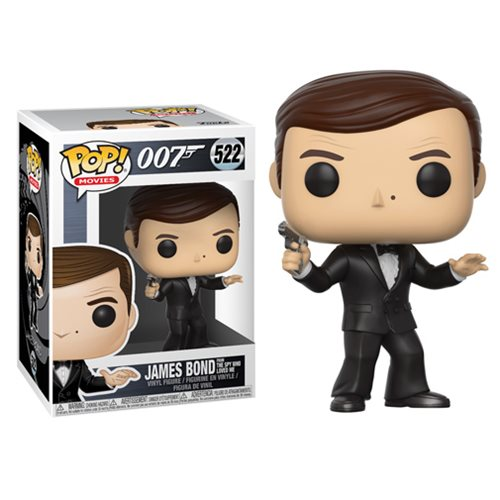 James Bond Roger Moore Pop! Vinyl Figure #522