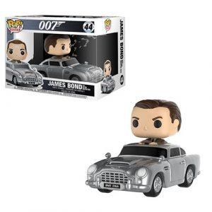 James Bond with Aston Martin Pop! Vinyl Vehicle #44