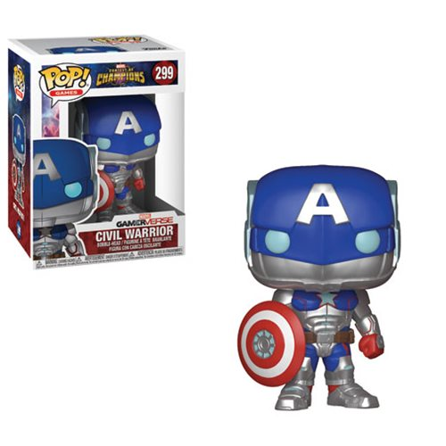 Marvel: Contest of Champions Civil Warrior Pop! Vinyl Figure Marvel: Contest of Champions Civil Warrior Pop! Vinyl Figure