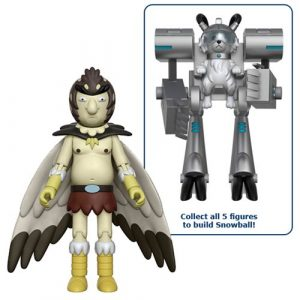 Rick and Morty Bird Person 5-Inch Action Figure