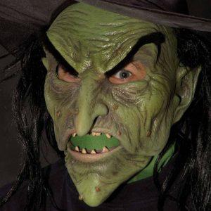 mascara-realista-bruxa-verde