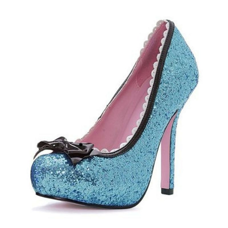 sapato-feminino-fantasia-azul-glitter