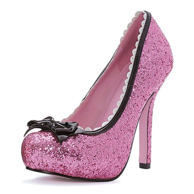 sapato-feminino-fantasia-rosa-glitter