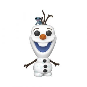 FU46585lg Frozen 2 Olaf and Fire Salamander Pop! Vinyl Figure