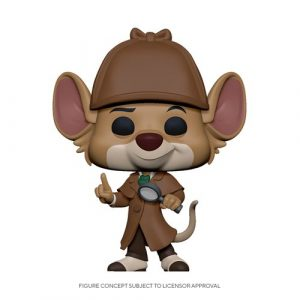 FU47718lg The Great Mouse Detective Basil Pop! Vinyl Figure
