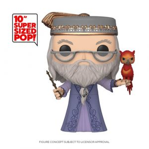 FU48038lg Harry Potter Dumbledore and Fawkes 10-Inch Pop! Vinyl Figure