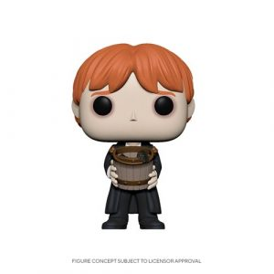 FU48066lg Harry Potter Ron Puking Slugs with Bucket Pop! Vinyl Figure