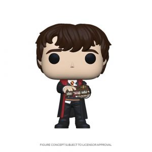 FU48068lg Harry Potter Neville with Monster Book Pop! Vinyl Figure